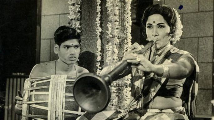 Manorama trong phim Thillana Mohanambal