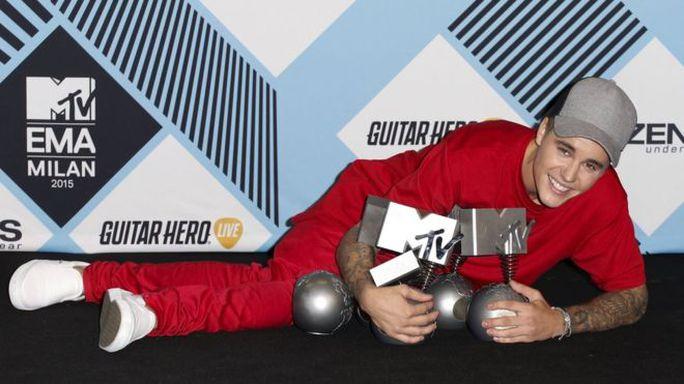 Justin Bieber hạnh phúc trước thắng lại của mình