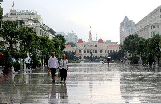 Khu phố đi bộ Nguyễn Huệ là nơi nằm trong quy hoạch đặt tượng điêu khắc ngoài trời