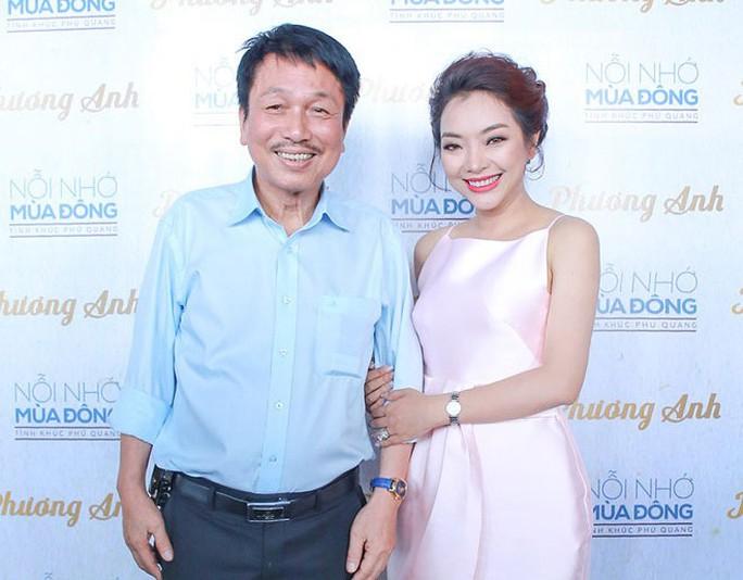 Nhạc sĩ Phú Quang và ca sĩ Phương Anh trong buổi ra mắt album