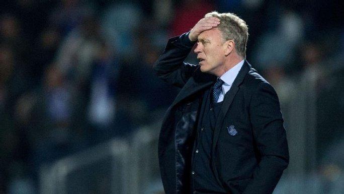 David Moyes không thể ngờ sự nghiệp của ông lại trắc trở kể từ khi rời Everton