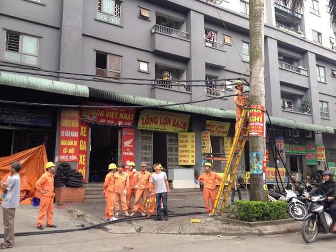Vẫn đang khắc phục hậu quả vụ cháy