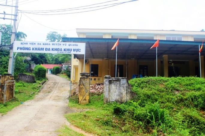 Phòng khám Đa khoa Đức Lĩnh, nơi xảy ra sự việc