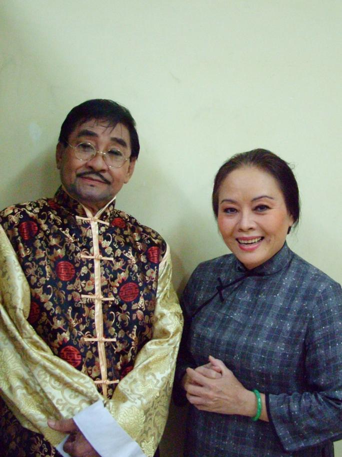 NSƯT Nam Hùng và NSƯT Thanh Nguyệt (Chu Phác Viên và Thị Bình của tác phẩm Lôi Vũ)