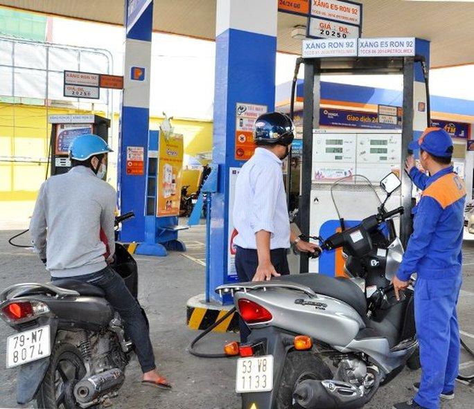 Một cửa hàng kinh doanh xăng E5 thuộc công ty Petrolimex Sài Gòn Ảnh: Petrolimex