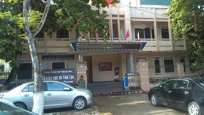 Sở Giáo dục và Đào tạo Hà Tĩnh, nơi 7 cán bộ bị nhắc nhở vì không uống bia Sài Gòn