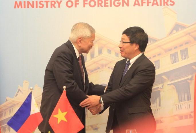 Hai Bộ trưởng Ngoại giao hài lòng với kết quả kỳ họp
