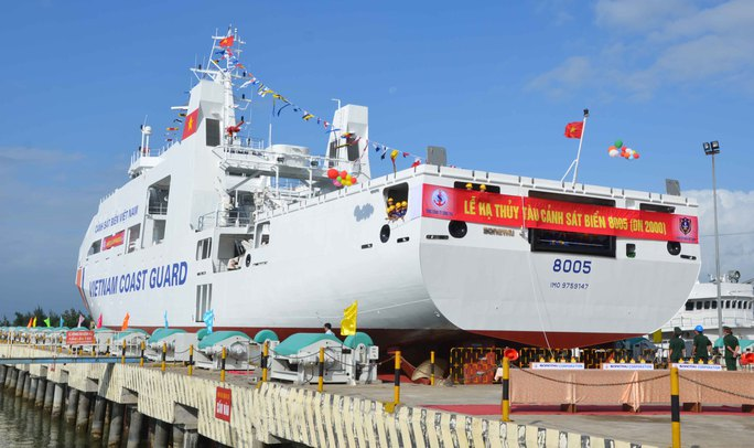Tàu có cả sân đỗ trực thăng cùng nhiều trang thiết bị hiện đại khác
