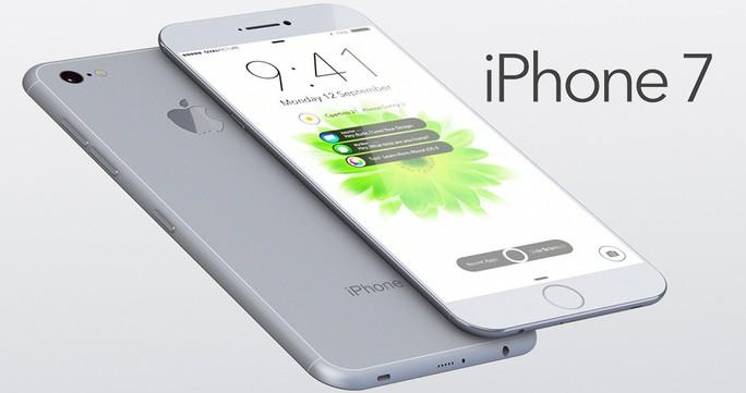 Một ý tưởng thiết kế cho iPhone 7 siêu mỏng với màn hình sát cạnh.