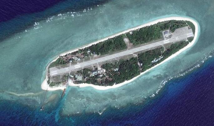 Đảo Ba Bình thuộc quần đảo Trường Sa của Việt Nam - Ảnh: SCMP