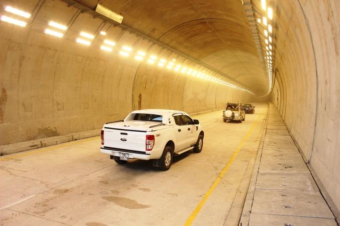 Thông xe kỹ thuật hầm Cổ Mã