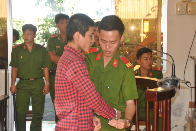Bị cáo Lê Cao Trí sau khi bị tuyên án