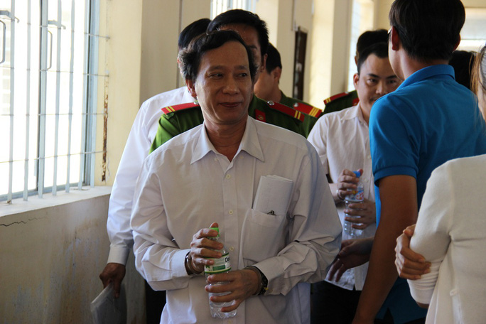 Bị cáo Nguyễn Trung Tâm bị kết án 15 năm tù về tội nhận hối lộ