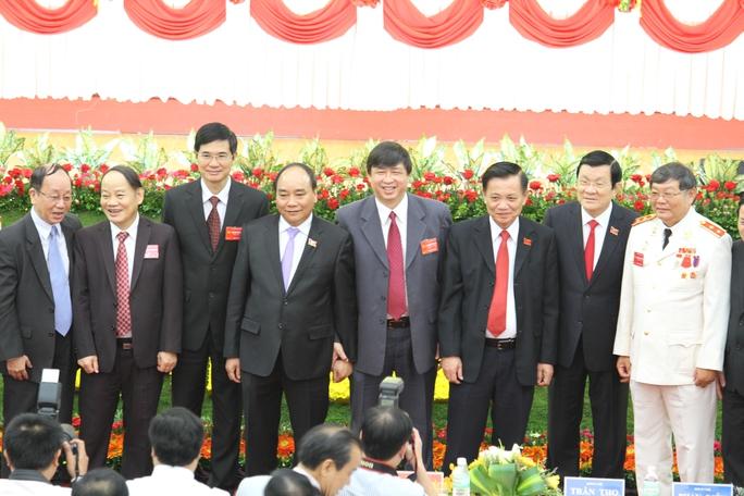 Các đại biểu Trung ương và đại phương tham dự Đại hội Đảng bộ thành phố Đà Nẵng.