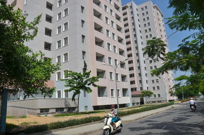 Nhà ở xã hội chung cư 481 Bến Ba Đình, quận 8, TP HCMẢnh: TẤN THẠNH
