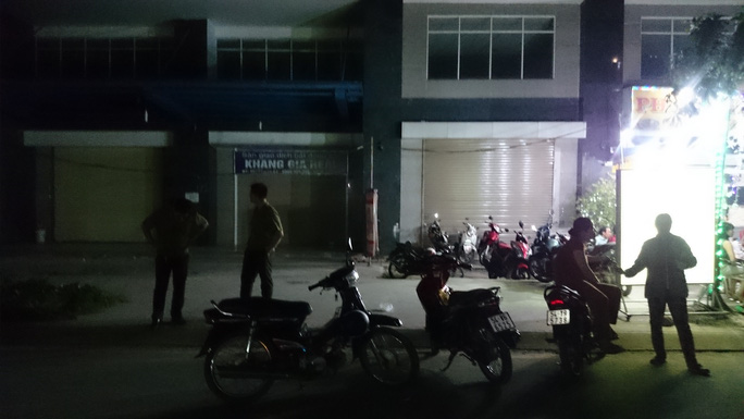 Chung cư Khang Gia (phường 14, quận Gò Vấp, TP.HCM) nơi lực lượng chức năng vừa bắt giữ hàng chục đối tượng người nước ngoài.