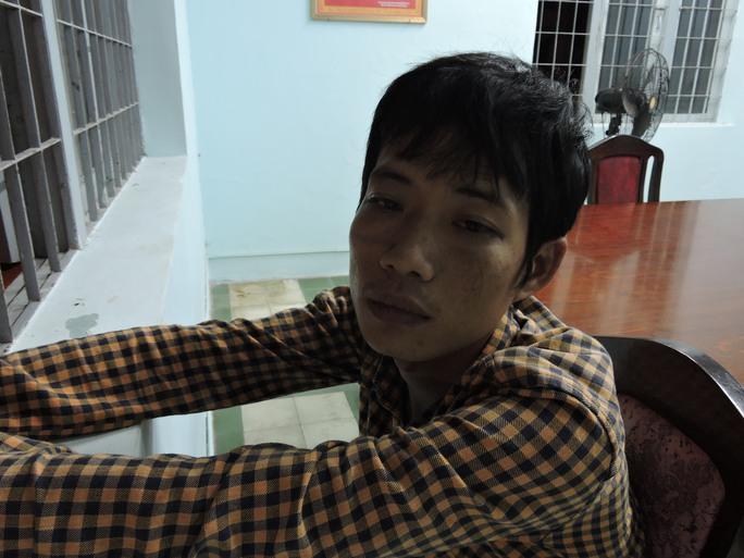 Đối tượng Nguyễn Thuận Lợi tại cơ quan điều tra