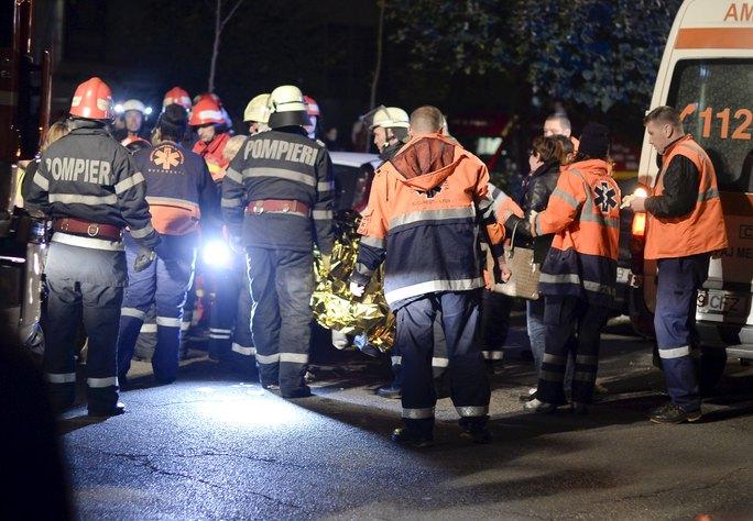 45 người được đưa tới bệnh viện để cấp cứu. Ảnh: Reuters