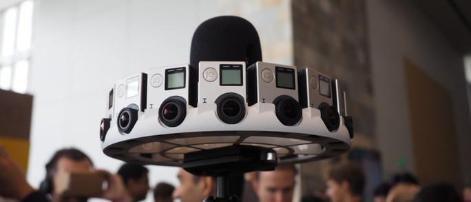 Odyssey, máy quay 3D thực tế ảo có 16 camera GoPro