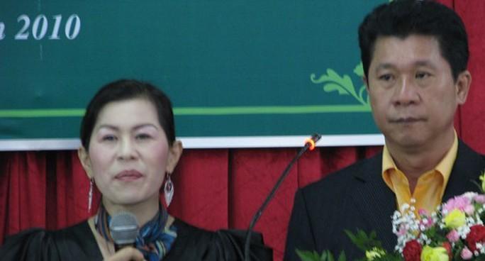 Bà Hà Linh và ông Lin Chin Chuang khi còn ở Lâm Đồng - Ảnh: Lâm Viên