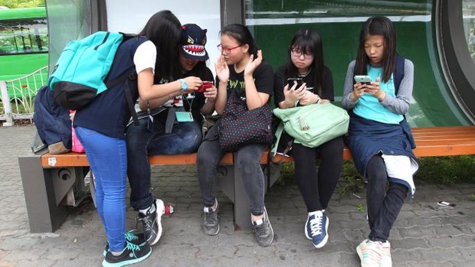 Ứng dụng Smart Sheriff được yêu cầu cài đặt trong điện thoại thông minh bán cho người vị thành niên ở Hàn Quốc Ảnh: AP