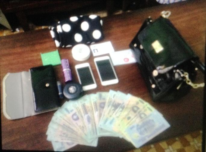 Tang vật vụ trộm ngày 20-11