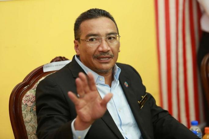 Bộ trưởng Quốc phòng Malaysia Hishammuddin Hussein. Ảnh: Malay Mail Online