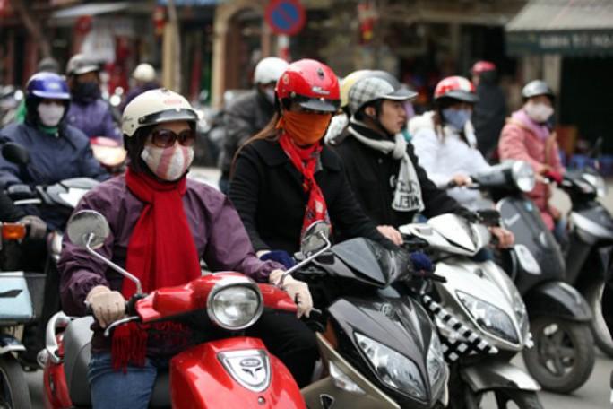 Người Hà Nội trong đợt rét đậm vào năm 2014 - Ảnh minh họa