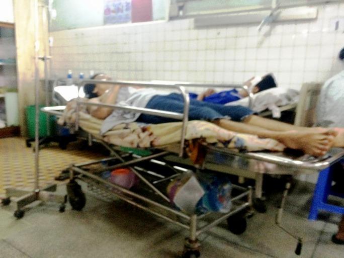 Võ Hồng Huynh tại bệnh viện