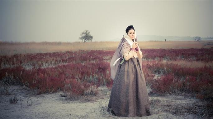 Tạo hình của Young Ae trong phim này
