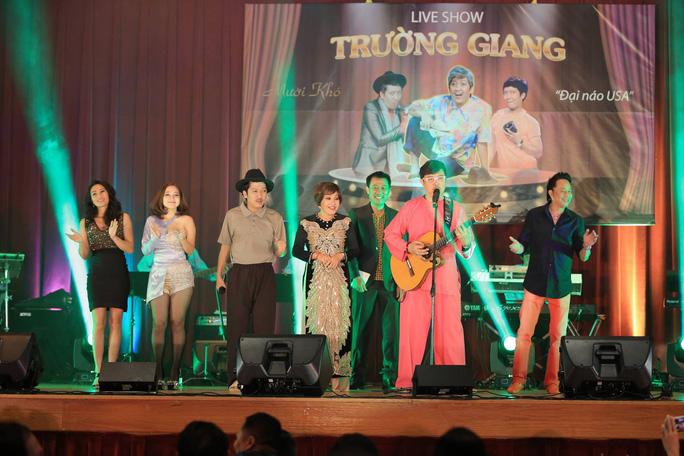 Các nghệ sĩ tham gia live show Trường Giang tại Mỹ
