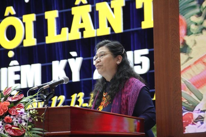 Ủy viên Bộ Chính trị, Phó Chủ tịch Quốc hội Tòng Thị Phóng phát biểu chỉ đạo Đại hội.