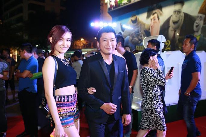Kinh Quốc tham gia buổi ra mắt phim