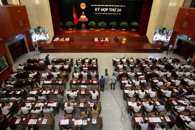 Khai mạc kỳ họp lần thứ 20 HĐND TP HCM khóa VIII, sáng 8-12