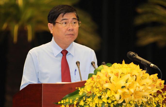 Ông Nguyễn Thành Phong phát biểu sau khi trúng cử Chủ tịch UBND TP HCM