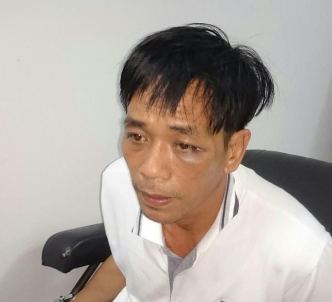 Đối tượng Nguyễn Văn Tốt tại cơ quan điều tra