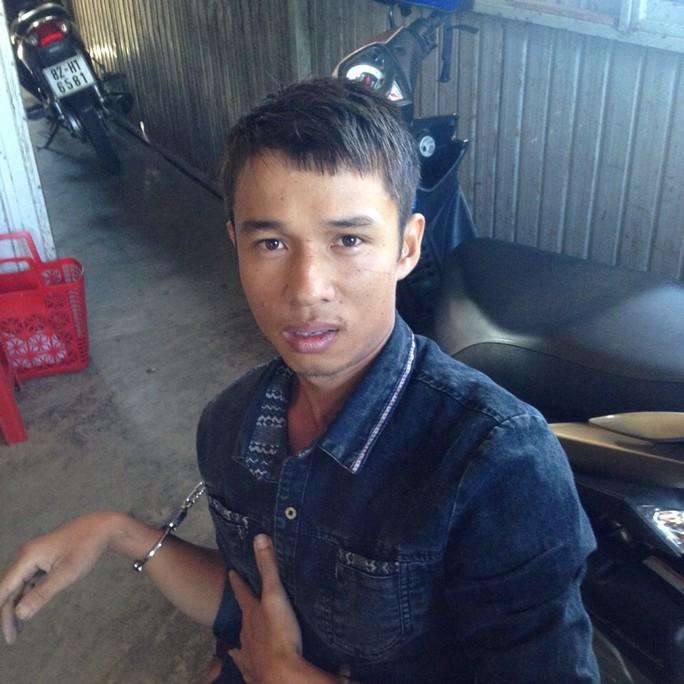 Đối tượng Kim Hào Nam khi bị bắt - Ảnh CTV