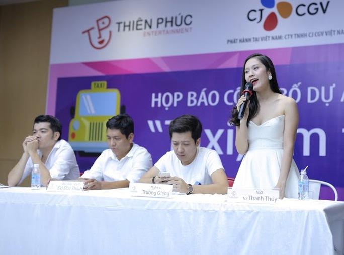 Thanh Thúy họp báo công bố dự án phim mới Taxi, em là ai?
