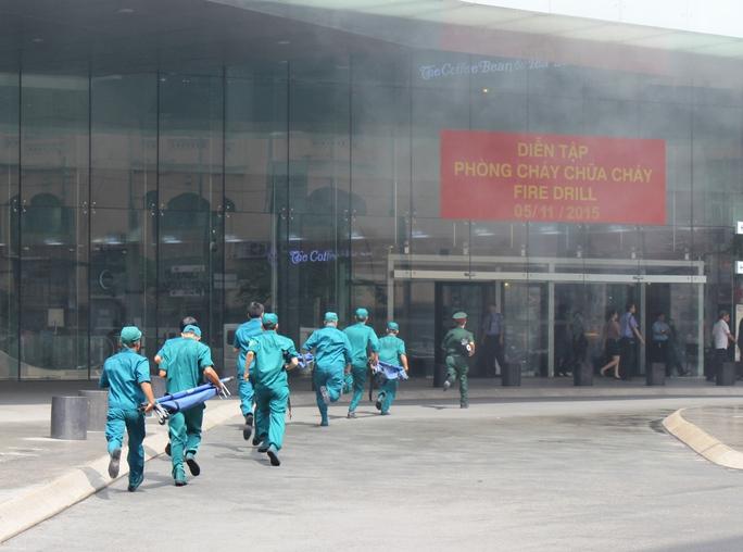 Các lực lượng phối hợp nhịp nhàng với nhau trong công tác cứu hỏa