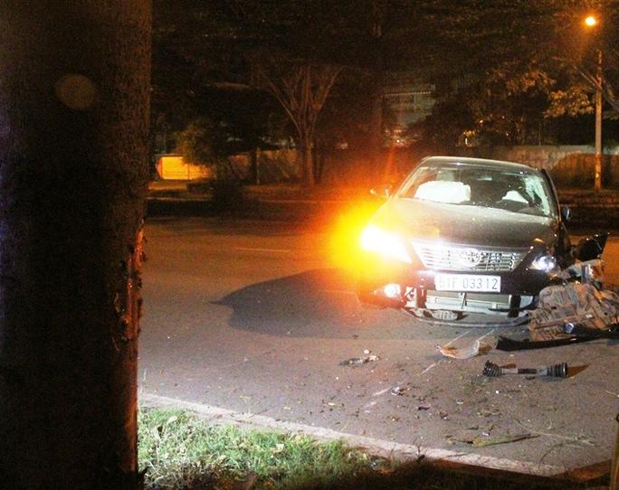 Hiện trường tai nạn