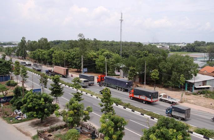 Nguyên liệu hàng hóa từ từ các KCN tại Bình Dương sẽ ra bến cảng, sân bay bằng đường Mỹ Phước - Tân Vạn