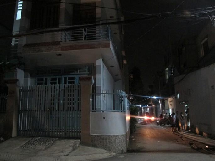Căn nhà nơi bọn cướp thuê để làm nơi giết ông Thọ, cướp tài sản