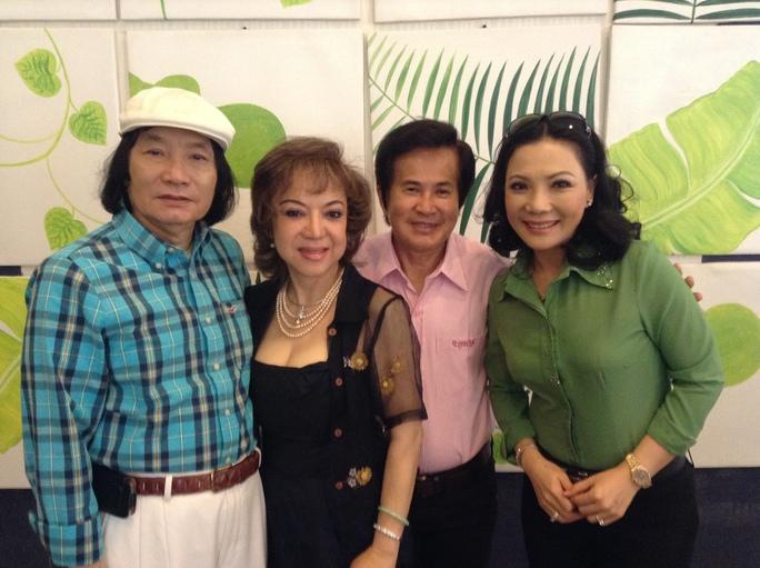 Vợ chồng NS Hoài Thanh, Đỗ Quyên và NS Minh Vương, Cẩm Tiên