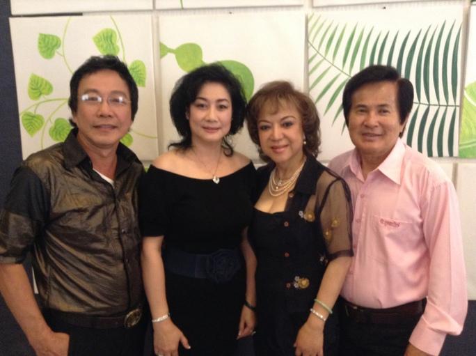 NS Hoài Thanh, Đỗ Quyên và vợ chồng NS Tuấn Thanh