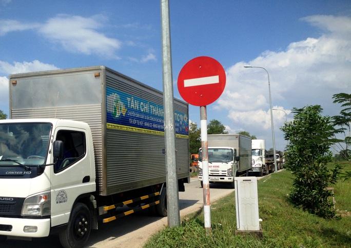 Vụ tai nạn làm giao thông ùn ứ cục bộ