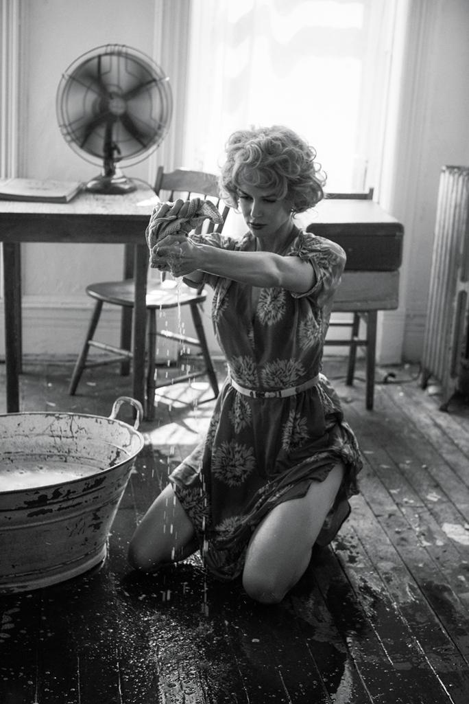 Nicole Kidman cuốn hút trong loạt ảnh đen trắng