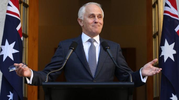 Tân Thủ tướng Úc Malcolm Turnbull Ảnh: ABC