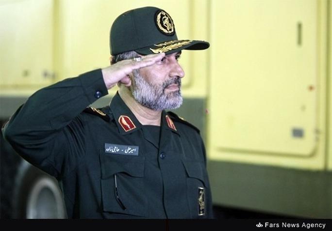 Chuẩn tướng Amir Ali Hajizadeh Ảnh: FARS