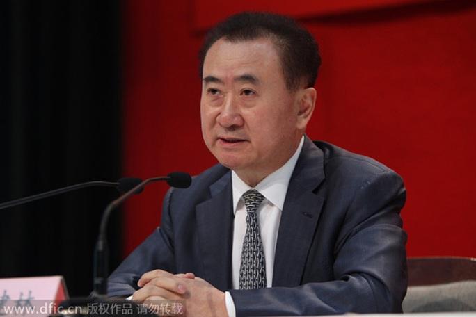 Chủ tịch tập đoàn Wanda Vương Kiến Lâm Ảnh: IC