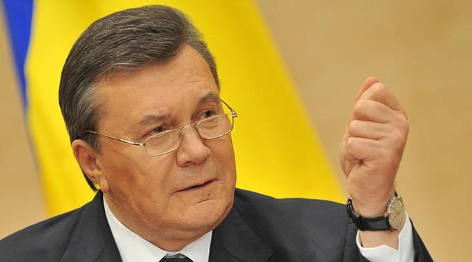 Tổng thống Ukraine bị lật đổ Viktor Yanukovych Ảnh: RIA NOVOSTI